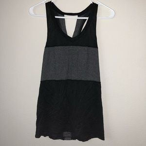 Lululemon Lightweight Grey/Black Tank